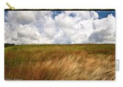 Leaden Clouds Over Field Carry-all Pouch