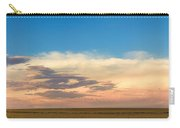 Leading Edge Storm Front And Moon Panorama Carry-all Pouch