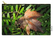 Leaf Among Ferns Carry-all Pouch