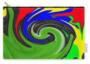 Leaf And Color Abstract Carry-all Pouch