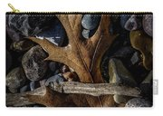 Leaf And Stones Carry-all Pouch