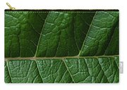 Leaf Close Up Carry-all Pouch