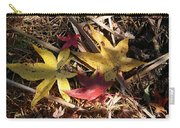 Leaf Collage Carry-all Pouch