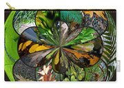 Leaf Collage Orb Carry-all Pouch