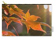 Leaf In The Sun Carry-all Pouch
