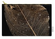 Leaf Lace Carry-all Pouch by Anne Gilbert