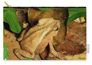 Leaf Litter Toad Bufo Typhonius Carry-all Pouch