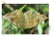 Leaf Mimicking Moth Carry-all Pouch