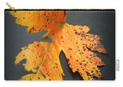 Leaf Portrait Carry-all Pouch