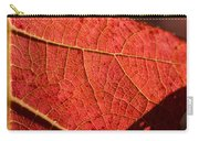 Leaf Venation Pattern 1 Carry-all Pouch