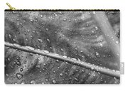Leaf Venation With Water Beads Carry-all Pouch