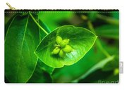 Leaf With Seeds Carry-all Pouch