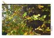 Leafy Tree Bark Image Carry-all Pouch