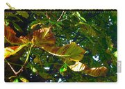 Leafy Tree Image Carry-all Pouch