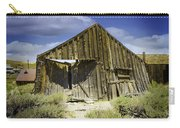 Leaning Barn Of Bodie California Carry-all Pouch