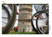 Leaning Bicycles Of Pisa Carry-all Pouch