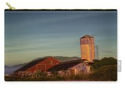 Leaning Silo  Carry-all Pouch by Bill Gallagher