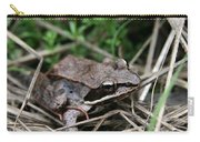 Wood Frog  Carry-all Pouch