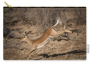 Leaping Impala Carry-all Pouch