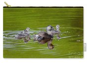 Least Grebe And Young Carry-all Pouch