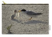 Least Tern Feeding It's Young Carry-all Pouch