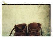 Leather Children Boots Carry-all Pouch