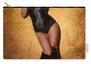 Leather Corset Carry-all Pouch