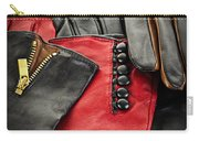 Leather Gloves Carry-all Pouch by Elena Elisseeva