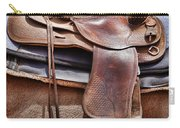 Leather Carry-all Pouch by Kelley King