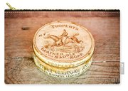 Leather Saddle Soap Carry-all Pouch