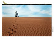 Leave Only Footprints Behind.. Carry-all Pouch