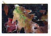 Leaves And Frost Carry-all Pouch