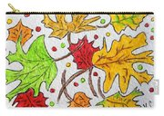 Leaves Are Falling Carry-all Pouch