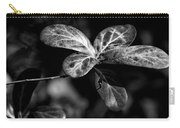 Leaves - Bw Carry-all Pouch