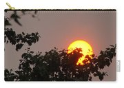 Leaves Cradling Setting Sun Carry-all Pouch