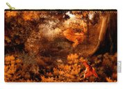 Leaves Of Gold Carry-all Pouch by Lourry Legarde