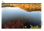 Leaves On The Lake Carry-all Pouch