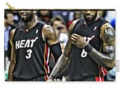 Lebron James And Dwyane Wade Carry-all Pouch