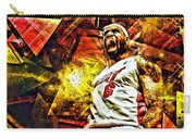 Lebron James Art Poster Carry-all Pouch