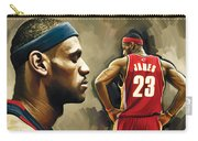 Lebron James Artwork 1 Carry-all Pouch