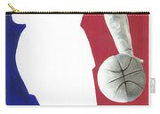 Lebron Nba Logo Carry-all Pouch by Tamir Barkan