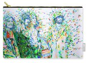 Led Zeppelin - Watercolor Portrait.2 Carry-all Pouch