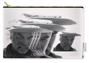 Lee Marvin Monte Walsh Collage Variation 2 Old Tucson Arizona 1969-2012 Carry-all Pouch