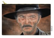 Lee Van Cleef As Angel Eyes In The Good The Bad And The Ugly Version II Carry-all Pouch