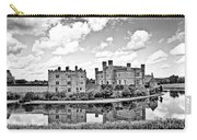 Leeds Castle Black And White Carry-all Pouch