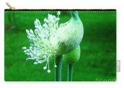 Leek Flower Carry-all Pouch