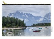 Leeks Marina In The Grand Tetons -  Carry-all Pouch
