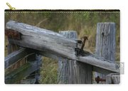 Left Behind At The Marsh Carry-all Pouch by Denyse Duhaime