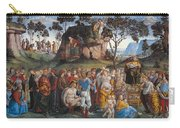 Legacy And Death Of Moses Carry-all Pouch