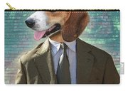 Legal Beagle Carry-all Pouch by Nikki Smith